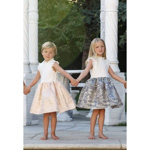 Sparkel Gold Dress - Aria & Sophia