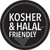 Kosher & Halal Friendly