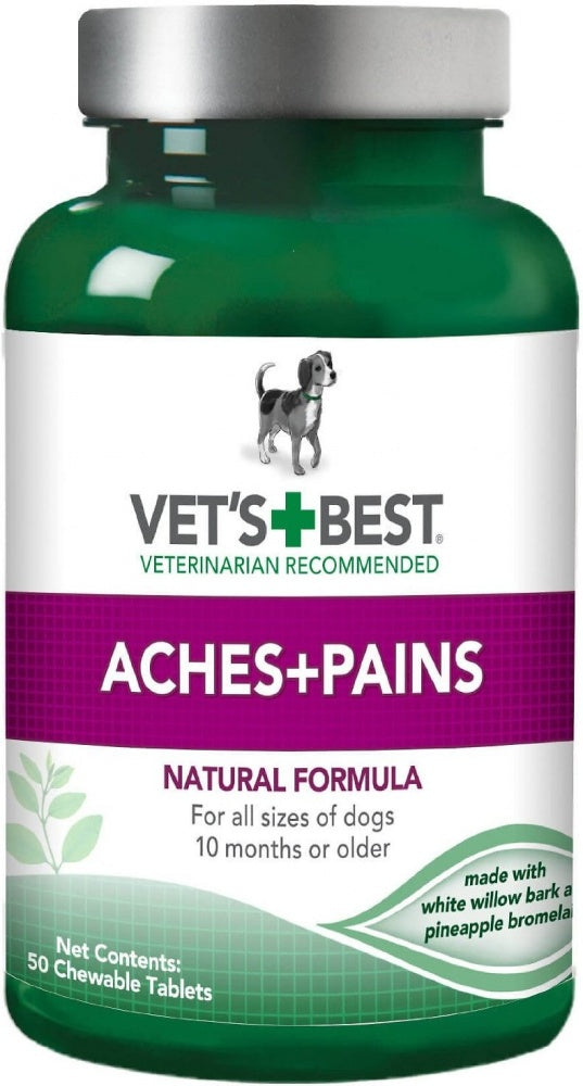 Vet's Best Aspirin-Free Aches and Pains Dog Supplement