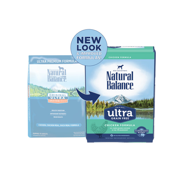 Natural Balance Original Ultra Grain Free Chicken Recipe Dry Dog Food