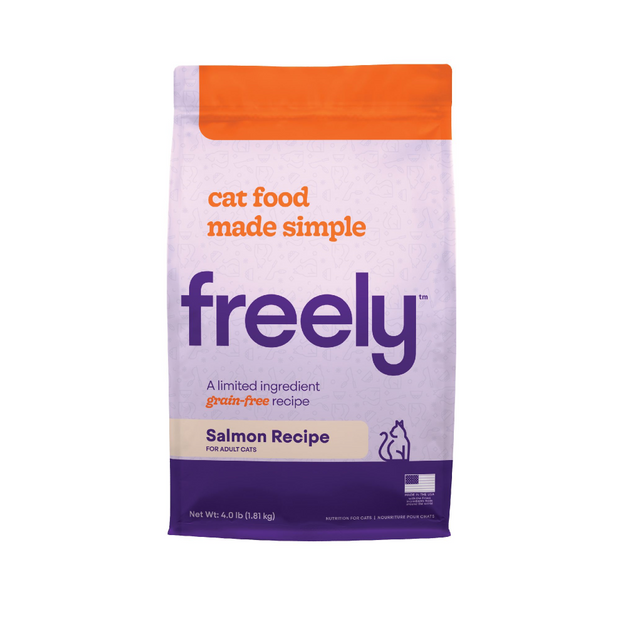 Freely Limited Ingredient Diet Natural Grain Free Salmon Kibble Dry Cat Food