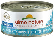 Almo Nature HQS Complete Cat Grain Free Tuna with Pumpkin Canned Cat Food