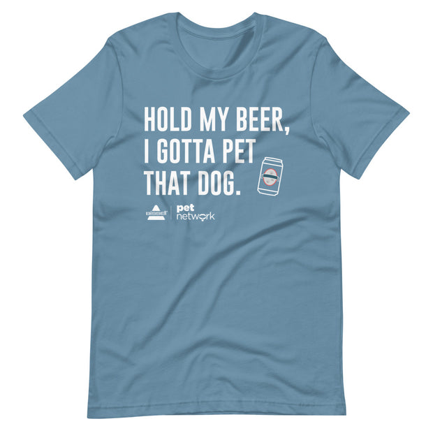 Hold my beer - Short-Sleeve Unisex T-Shirt