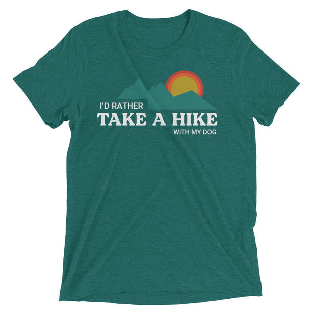 I'd Rather Take A Hike Short sleeve t-shirt