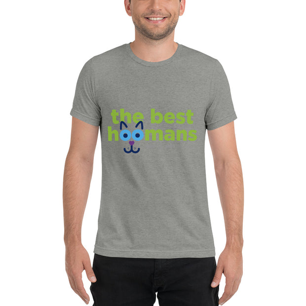 Best Hoomans - Short sleeve t-shirt