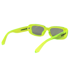 RECTANGLE LOGO SUNGLASSES GREEN