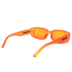 RECTANGLE LOGO SUNGLASSES ORANGE
