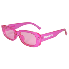 RECTANGLE LOGO SUNGLASSES PINK