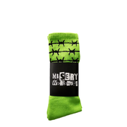 BARBED WIRE SLIME SOCKS