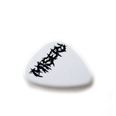 1.0MM WHITE DELRIN MISERY PLECTRUM