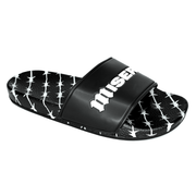 BARBED WIRE BLACK SLIDES