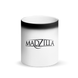 Vintage Old Logo Madzilla LV Matte Black Magic Mug