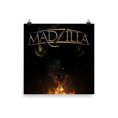 Madzilla LV Photo paper poster