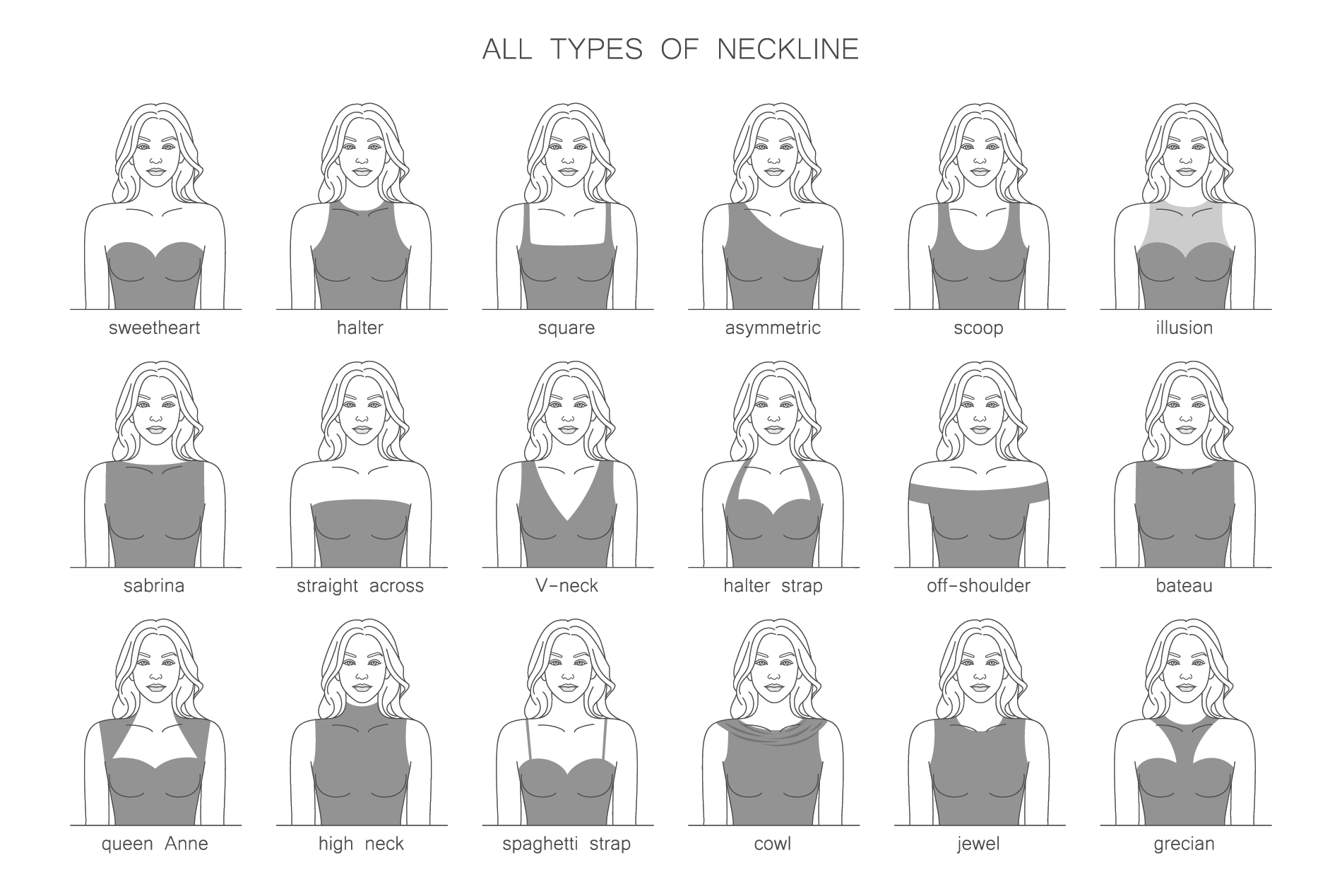 How To Match Your Necklace To Every Neckline Shop Necklet Necklet