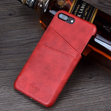 Leather Luxury Wallet Iphone 8 Plus Case