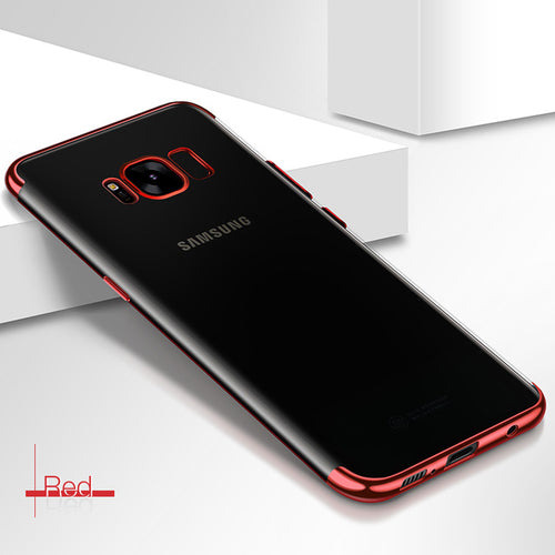 Transparent Plating Case for Samsung Galaxy S8