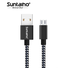 Micro USB Cable 2.4A Nylon Braided