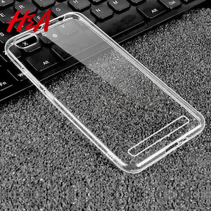Ultra Thin Soft Transparent TPU Case For Xiaomi Redmi 4X