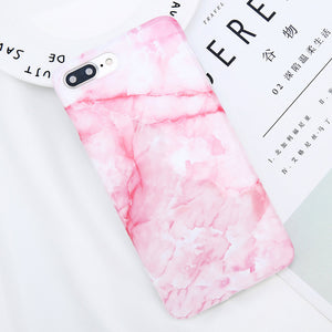 Colorful Marble Phone Case For iPhone 8 Plus