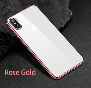 Luxury Soft TPU Cases for iPhone 8