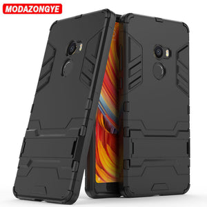 Hybrid Silicone + TPU Back Cover Phone Case for Xiaomi Mi Mix 2