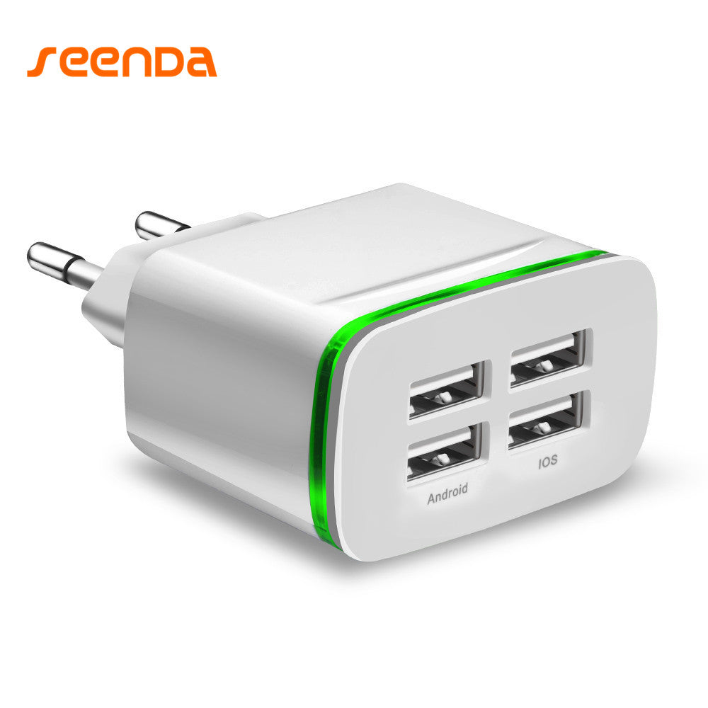 USB Fast Charger 4 Ports