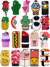 3D Cute Cartoon Silicone Case Cover For iPhone 5
