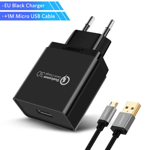 Quick Charge 3.0 Phone Charger