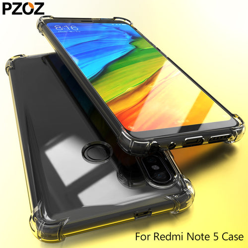 Silicone Transparent Xiaomi Redmi Note 5 Case