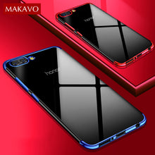 Luxury Soft Silicone Transparent Plating Cover For Huawei Honor View 10