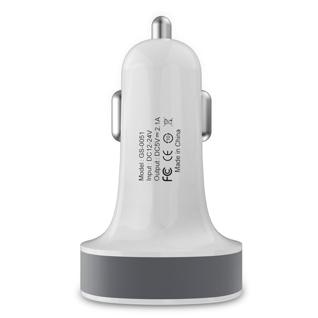 Dual USB Car Charger 2.1 A