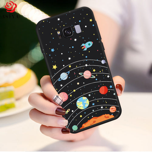 Cute Cartoon Case For Samsung Galaxy S8