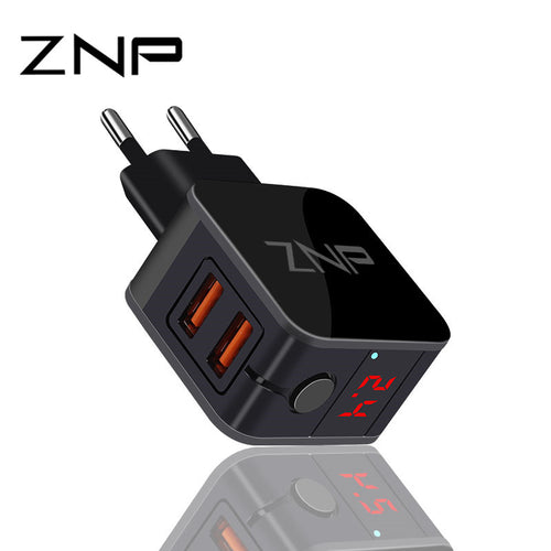 2 Port 2.4A Universal Safe Fast Charger Adapter