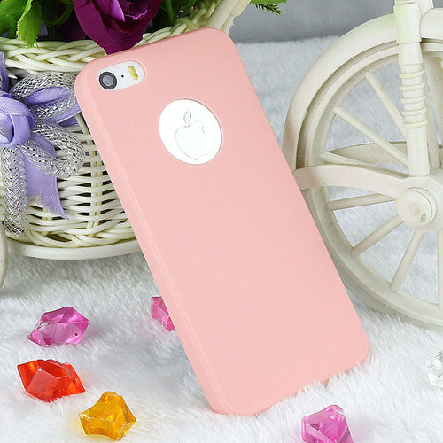Silicone Case Cover For iPhone 5