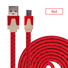 Micro USB Cable Nylon Braided