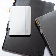 Blackwing Large Slate Notebook - Grey Cover - Dot
