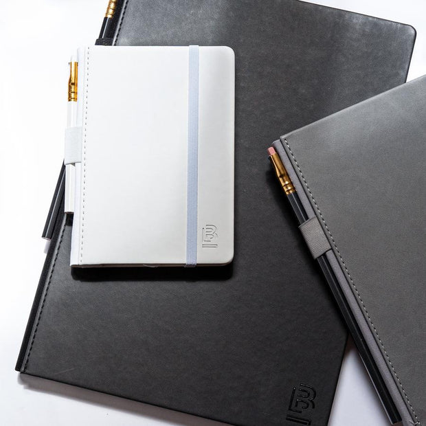 Blackwing Small Slate Notebook - Black Cover - Ruled