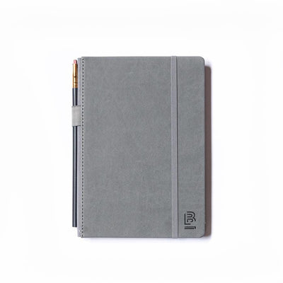 Blackwing Medium Slate Notebook - Grey Cover - Plain
