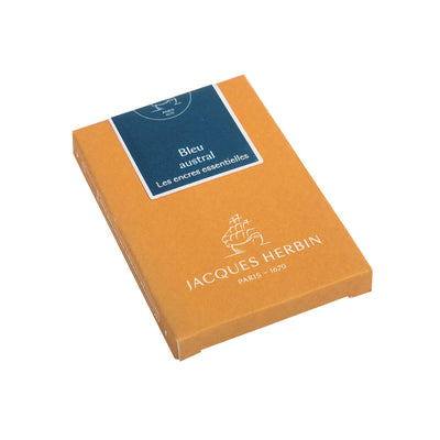 Jacques Herbin Essential - Bleu Austral - Ink Cartridges