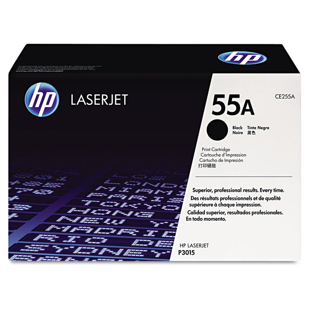 Hp 55a, (ce255a) Black Original Laserjet Toner Cartridge