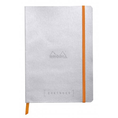 Rhodia Softcover Goalbook - Silver