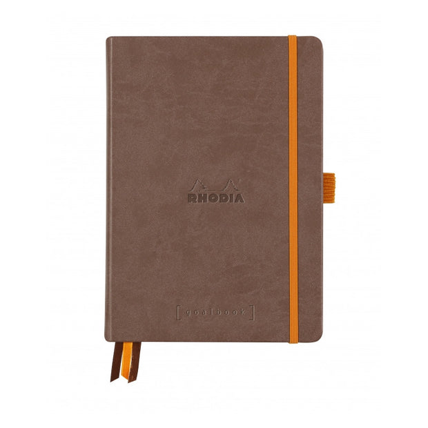 Rhodia Hardcover Goalbook - Chocolate