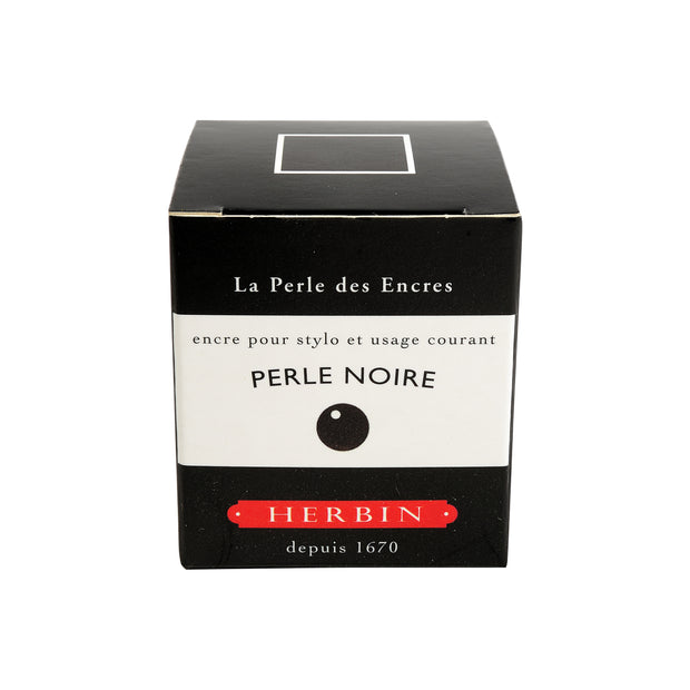 Herbin Ink - Perle Noire - 30ml Bottled Ink