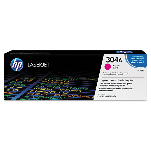 Hp 304a, (cc533a) Magenta Original Laserjet Toner Cartridge