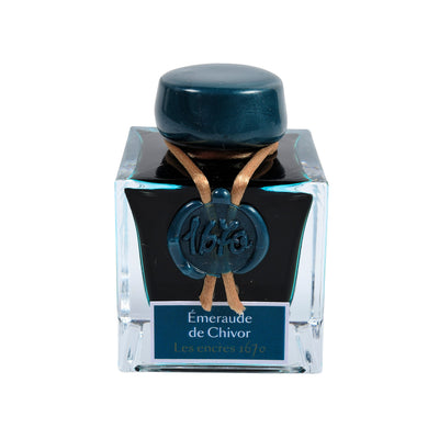 Herbin 1670 Ink - Emerald of Chivor - 50ml Bottled Ink