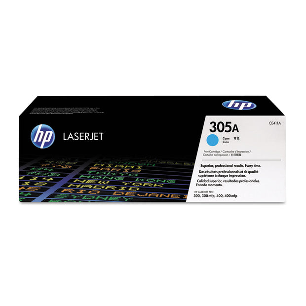 Hp 305a, (ce411a) Cyan Original Laserjet Toner Cartridge