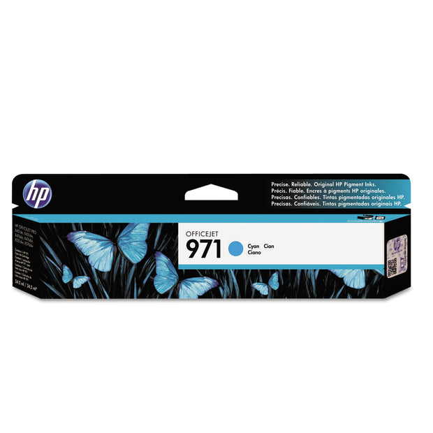 Hp 971, (cn622am) Cyan Original Ink Cartridge