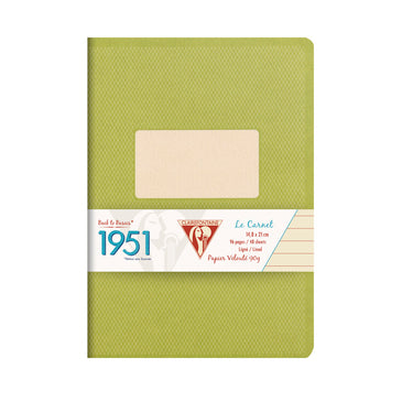 "Clairefontaine Staplebound Notebook Collection ""1951"" - Lined 48 sheets - 5 3/4 x 8 1/4 - Assorted"