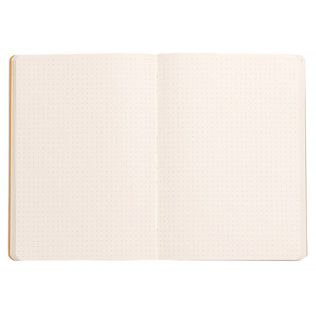 Rhodia Rhodiaram Soft Cover A5 Notebook - Dot Grid - Tangerine