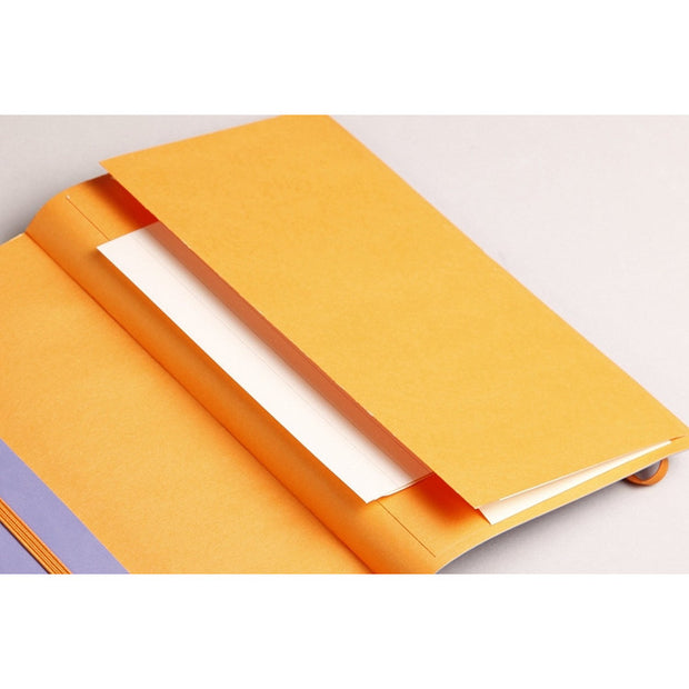 Rhodia Rhodiarama Soft Cover A5 Notebook - Dot Grid - Anise